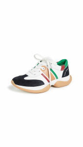 Tory Sport Stripe Lace Up Sneakers