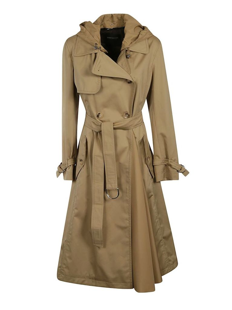 Max Mara A-line Trench Coat