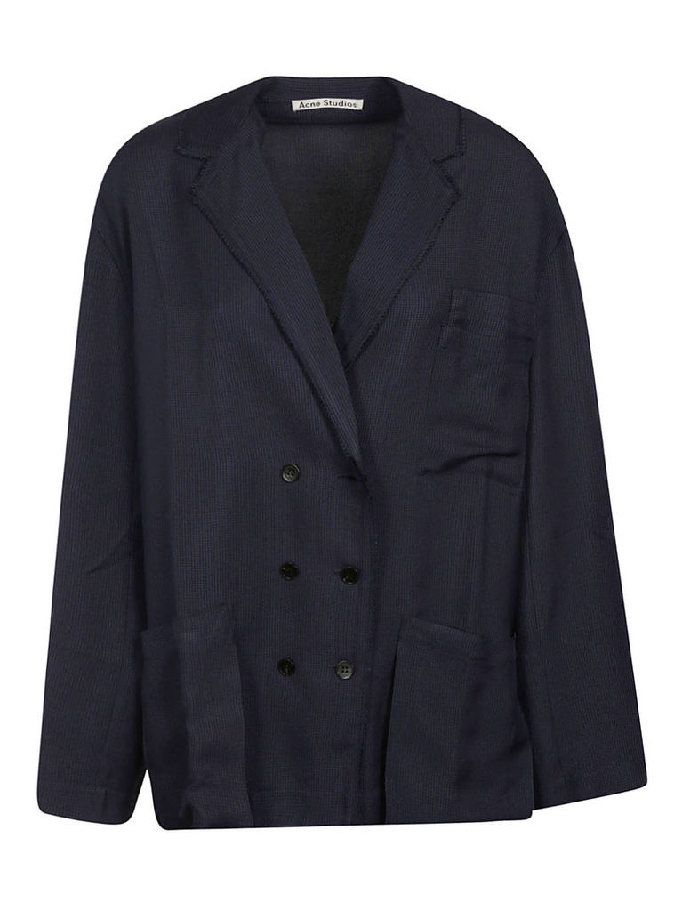 Acne Studios Double-breasted Pajama Blazer