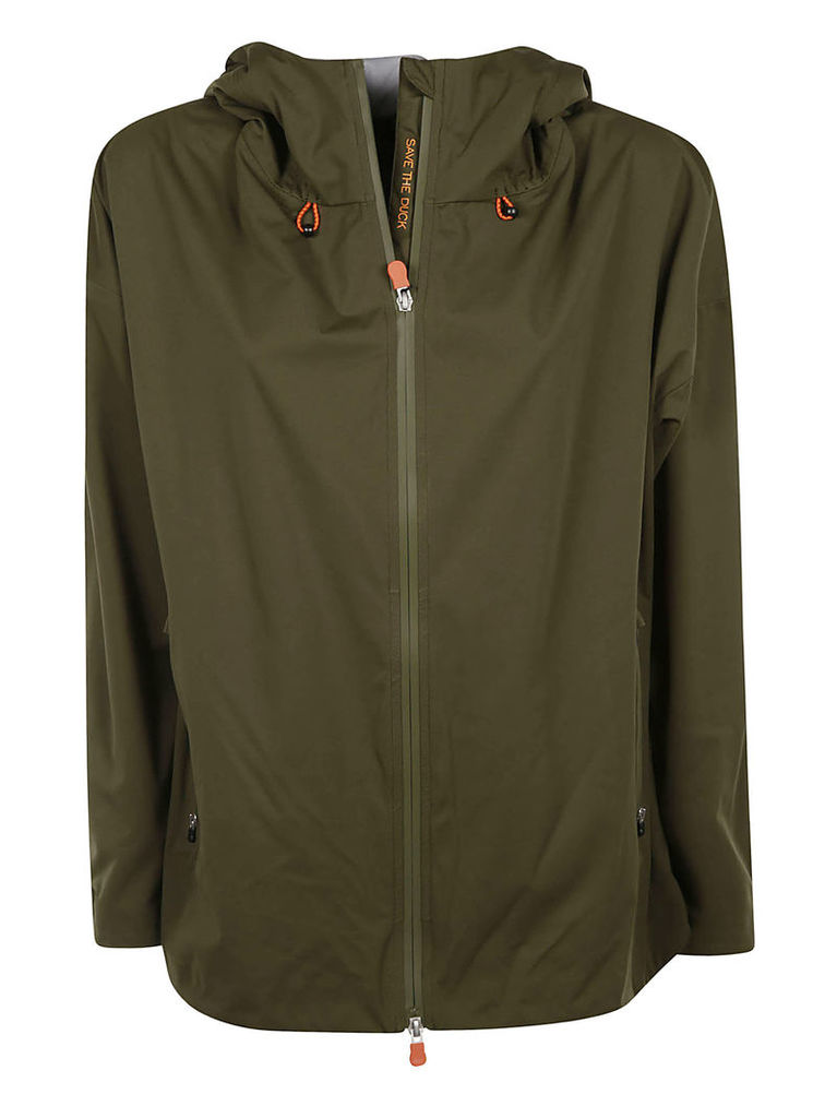 Save The Duck Lightweight Hooded Raincoat