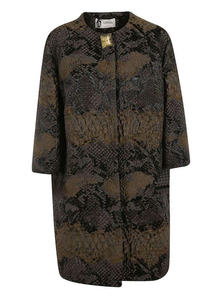 Lanvin Animal Effect Coat