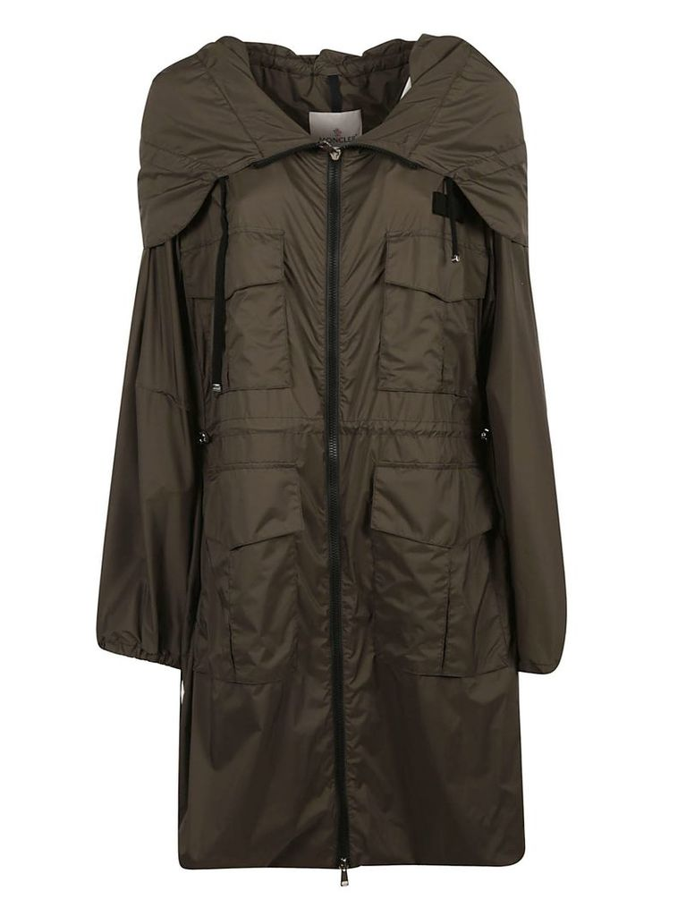 Moncler Zip Hooded Raincoat
