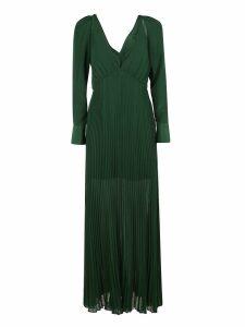 Self-portrait Pleated Midnight Dress