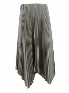 Fabiana Filippi Asymmetric Pleated Skirt