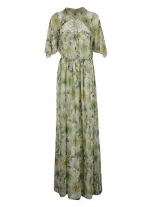 Giambattista Valli Giambattista Valli Plants Print Dress