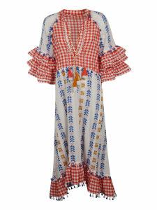 Dodo Bar Or Multi Pattern Dress