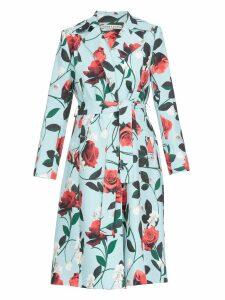 Alice + Olivia Floral Patterned Coat