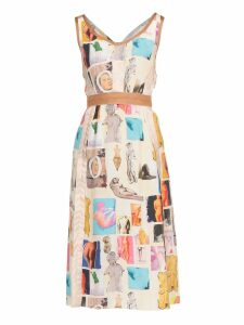 Marni Printed Fabric Dress