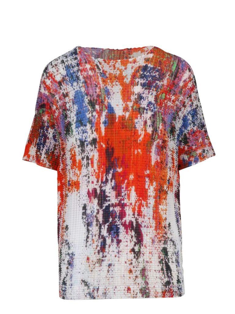 Issey Miyake Patterned T-shirt