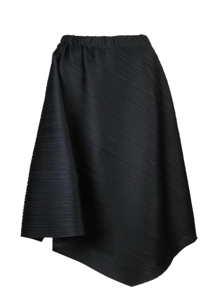 Pleats Please By Issey Miyake Pleated Midi Skirt