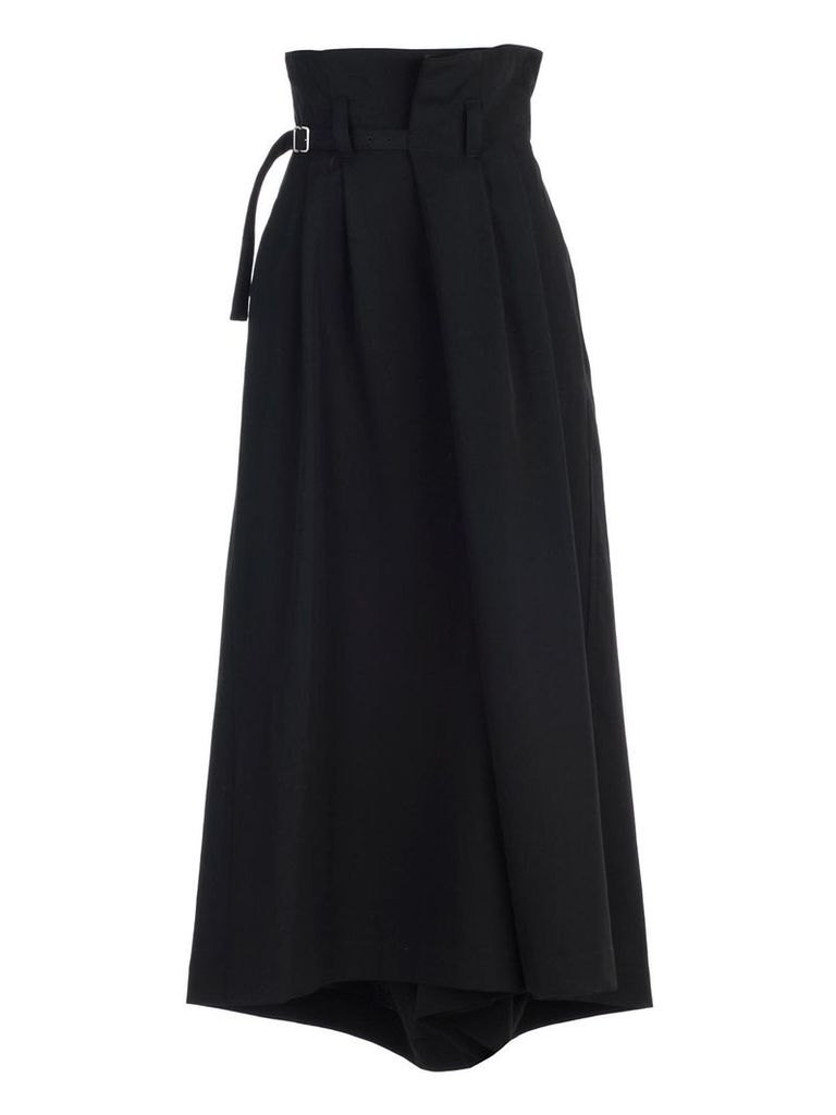 Y's Belted Asymmetric Skirt