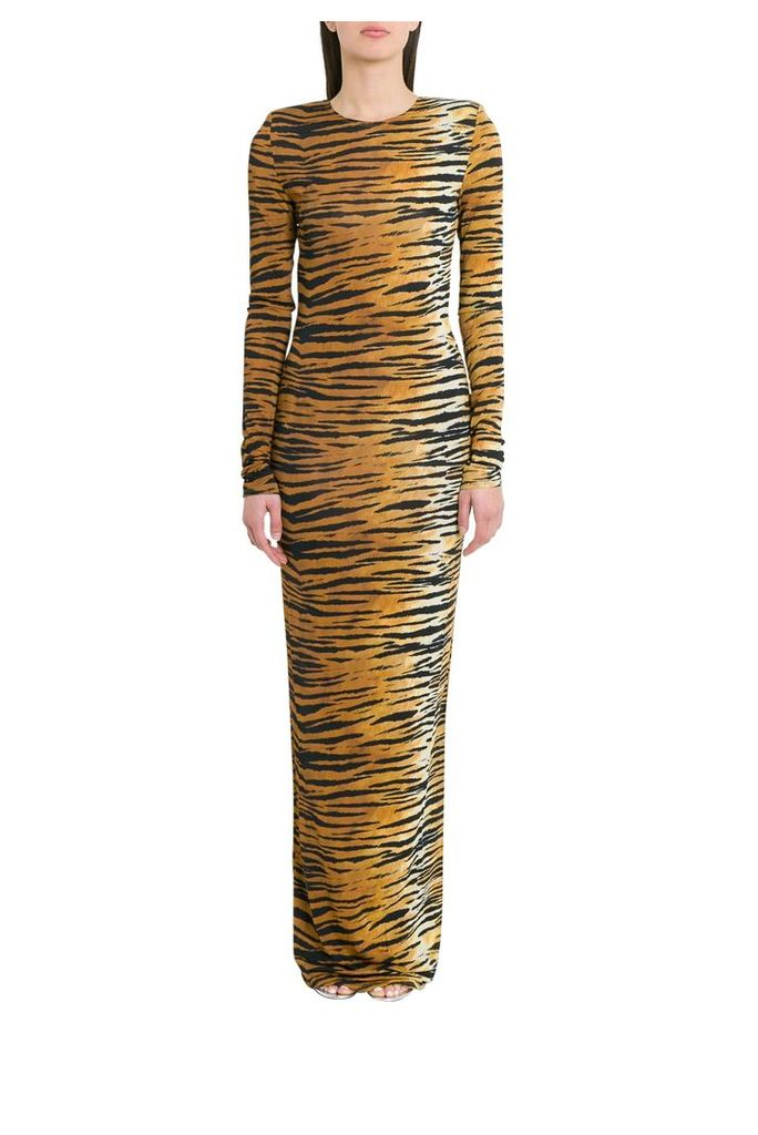 Alexandre Vauthier Lon Tiger Printed Dress