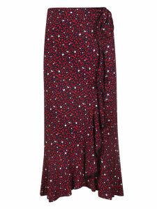Michael Kors Heart Print Skirt