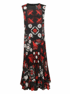 RED Valentino Floral Flared Dress