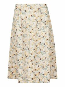 Marni High Waist Printed Skirt
