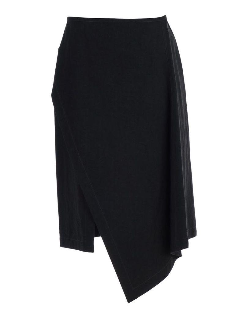 Lemaire Asymmetric Wrap Skirt