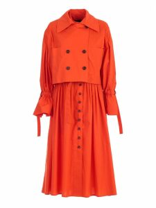 Eudon Choi Gathered Trench Coat