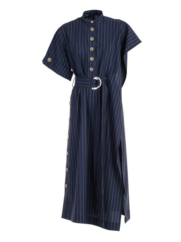 Eudon Choi Pinstripe Dress