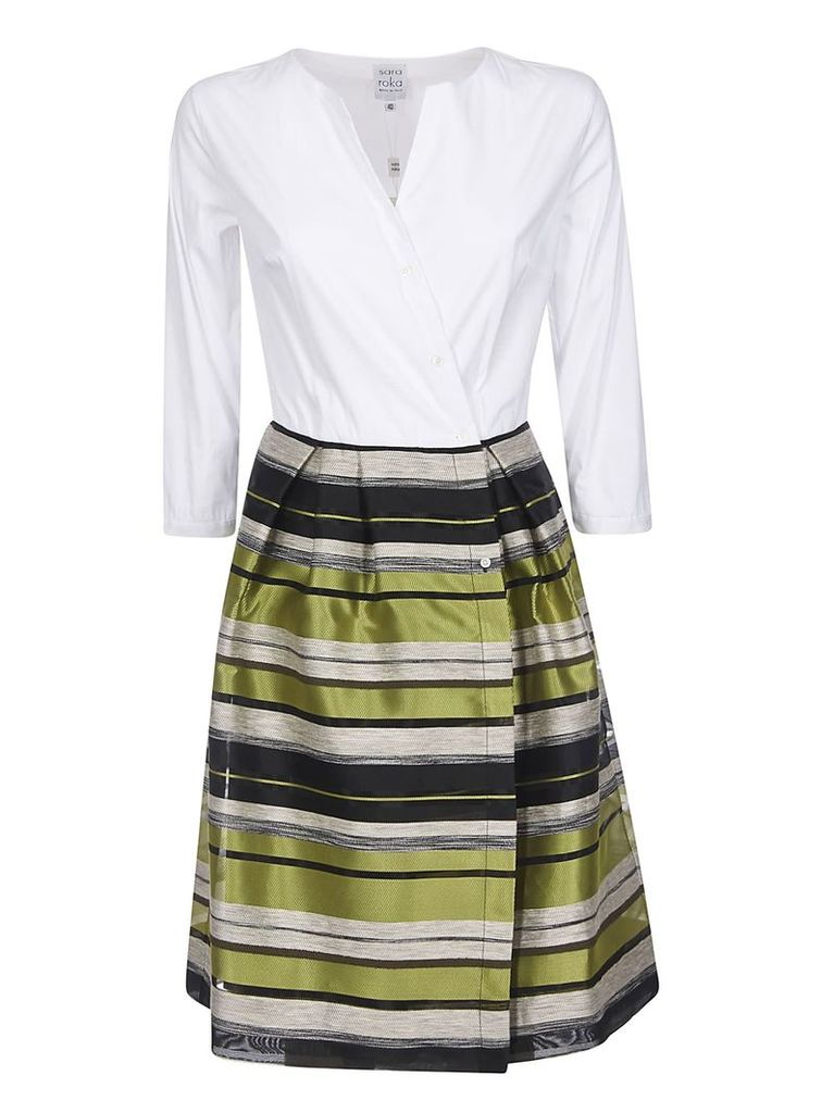 Sara Roka Striped Dress