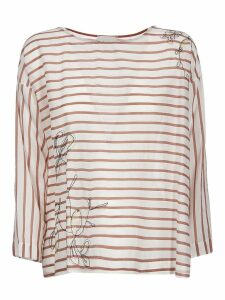 Forte Forte Horizontal Striped Top