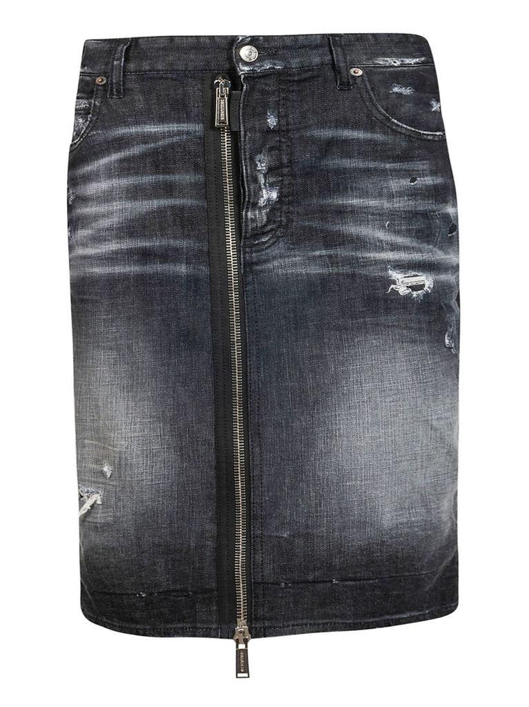 Dsquared2 Zip-detail Skirt