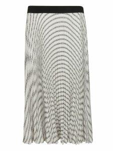 Karl Lagerfeld Logo Print Skirt