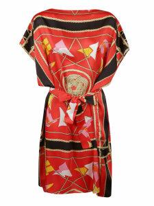 MSGM Nautical Print Dress