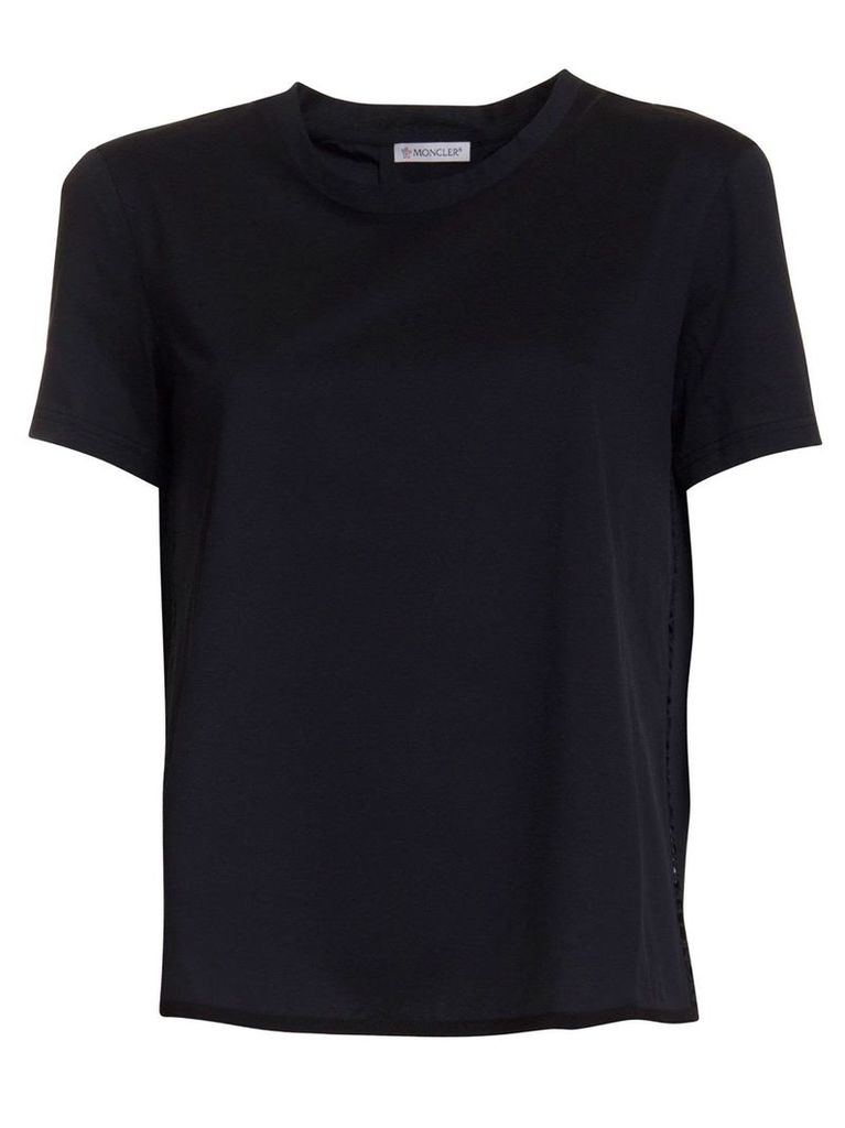Moncler T-shirt In Black