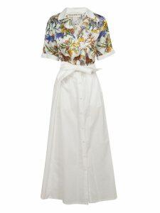 Shirt A Porter Animal Print Belted Dress