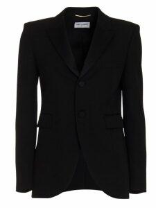 Saint Laurent Blazer In Black