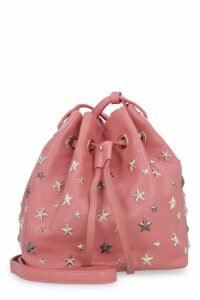 Jimmy Choo Juno Mini Leather Bucket-bag