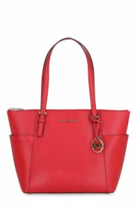 Michael Kors Jet Set Pebbled Leather Tote