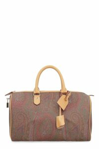 Etro Paisley Print Boston Bag