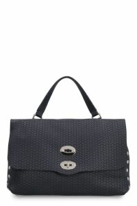 Zanellato Patterned Leather Postina-m Bag