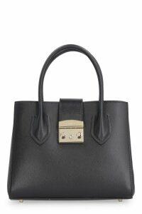 Furla Metropolis S Leather Tote Bag