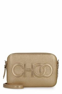 Jimmy Choo Balti Metallic Leather Mini-bag