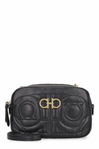 Salvatore Ferragamo Quilted Leather Camera Bag