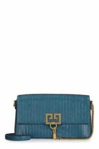 Givenchy Charm Leather Clutch