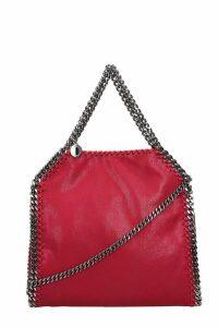Stella McCartney Fuxia Faux Leather Falabella Tote Mini Bag
