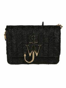 J.W. Anderson Raffia Anchor Shoulder Bag