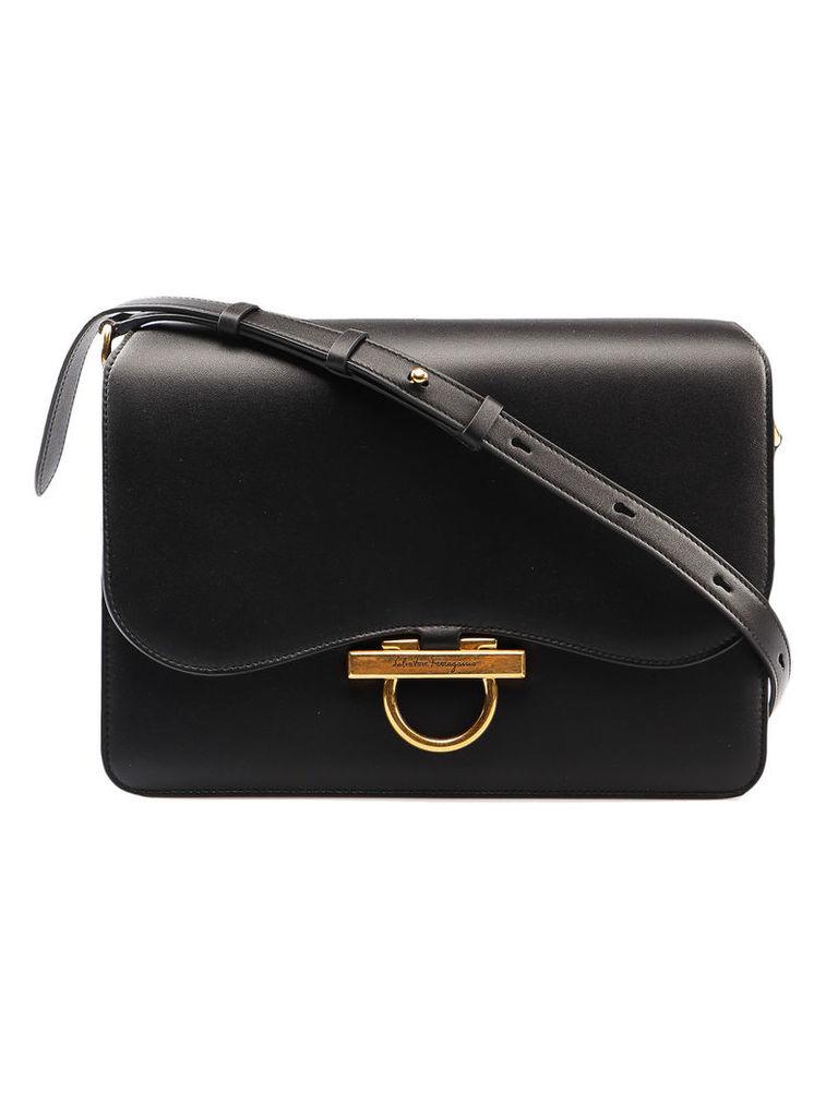 Salvatore Ferragamo Black Evening Shoulder Bag