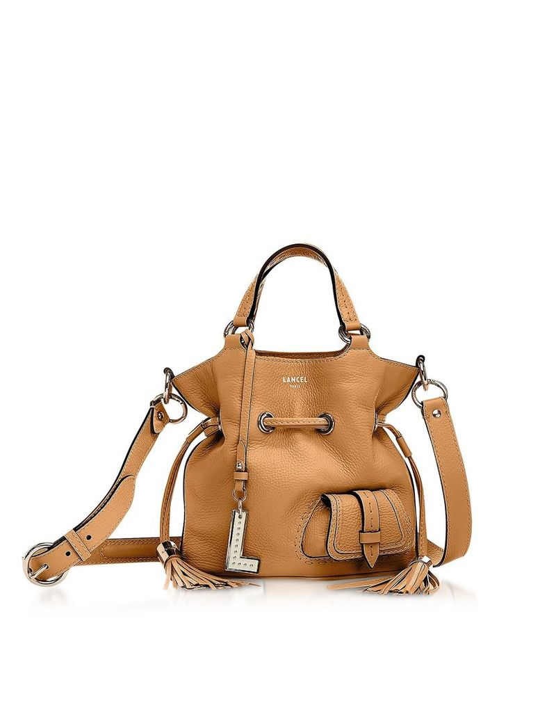Lancel Premiere Small Leather Bucket Bag