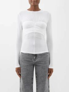 Jacquemus - Double Breasted Wool Blazer - Womens - Navy