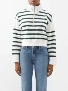 Galvan - Whiteley Sequinned Maxi Dress - Womens - Ivory