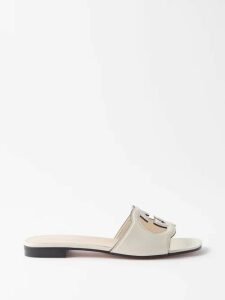 Maria Lucia Hohan - Derya Fluted Hem Silk Satin Dress - Womens - Green