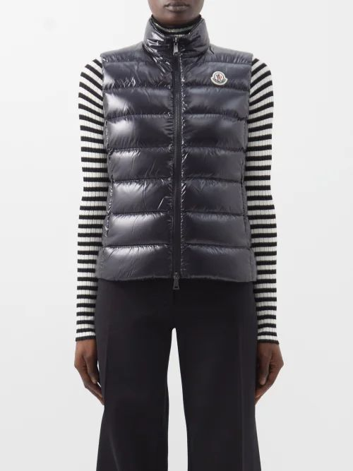 Prada - Bow Appliqué Double Silk Satin Midi Skirt - Womens - Dark Brown