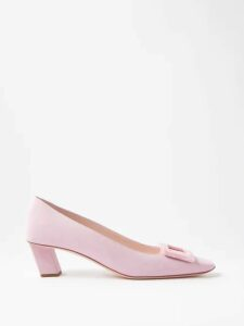 Biyan - Risjavik Crystal Embellished Cotton Blend Coat - Womens - Navy Multi