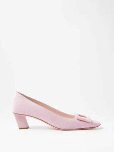 Biyan - Risjavik Crystal Embellished Cotton Blend Coat - Womens - Navy Multi