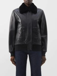Marina Moscone - Twist Front Satin Dress - Womens - Blue
