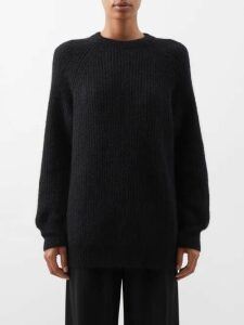 Burberry - Leather Trim Cotton Gabardine Trench Coat - Womens - Beige